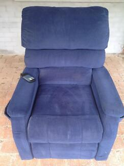Electric lifter/recliner chair for sale