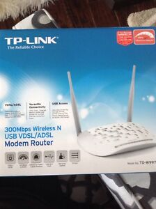 Two TP link routers