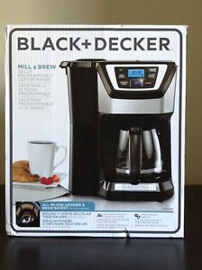 Black and decker 12 cup coffeemaker - brand new