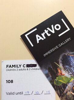 ARTVO family tickets