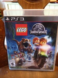 New Jurassic world PS3 game lego