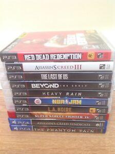 $20 PS4 & $10 PS3 games