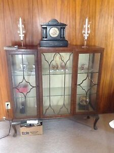 China cabinet (Laurier Heights, Edmonton)