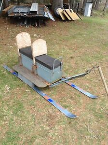 Sleigh for skidoo,REDUCED TO $25.00