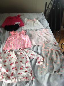 Carters 18 month girls summer lot