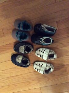 Variety Baby Shoes and Splash Pants Lot