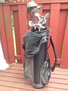 R/H set of Omega golf set
