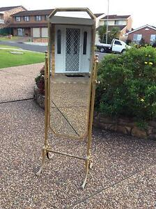 BRASS CHEVAL MIRROR FREESTANDING Shellharbour Shellharbour Area Preview
