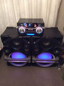 Panasonic super woofer Stereo system Wetherill Park Fairfield Area Preview