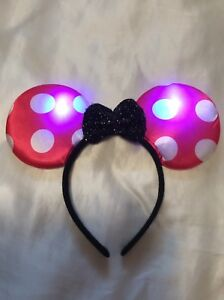 LED Minnie Mouse Headband (Brand new! Never worn)
