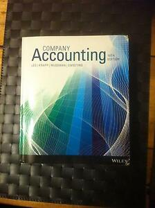Company Accounting 10th Edition South Perth South Perth Area Preview