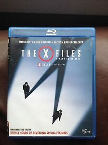 X-Files seasons 1-9 on dvd & Blu-Ray movie
