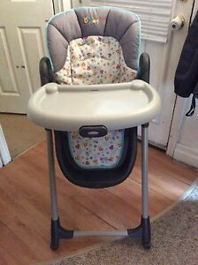 Winnie the Pooh graco high chair