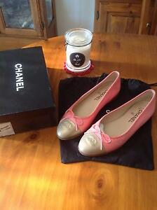 Chanel Authentic Ballet Flats size 39 1/2 Port Noarlunga Morphett Vale Area Preview