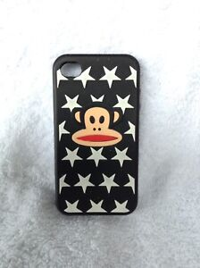 IPhone 4, 4s cellphone case, Monkey with Stars