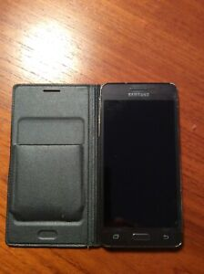 Samsung Galaxy Prime Phone and Case  8 gb