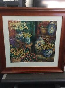 Wooden framed picture Jerrabomberra Queanbeyan Area Preview