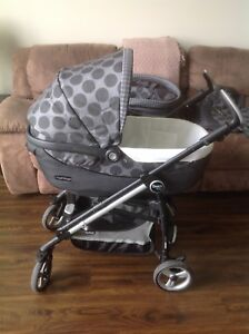 Peg Perego Switch Four Stroller and Navetta XL Bassinet