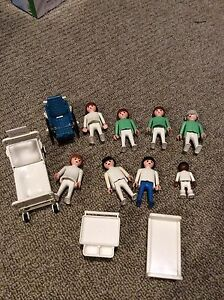 Vintage Playmobil hospital figures