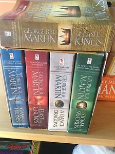 Five game of Thrones boxed set, plus one books
