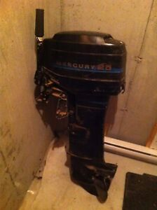 25hp mercury long shaft outboard Motor