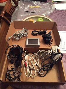 Garmin nuvi with cord and other cords