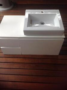 Bathroom Wall Hung Vanity Thornleigh Hornsby Area Preview