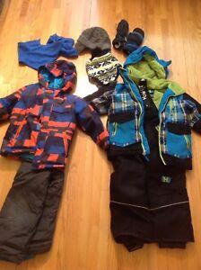 2 habits de neige taille 4