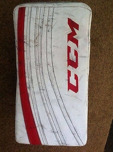 CCM hockey goalie blocker size intermediate