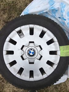 A set of NEW winter tires 205/55/16 for BMW E46
