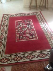 Red Floor Rug Cooloongup Rockingham Area Preview
