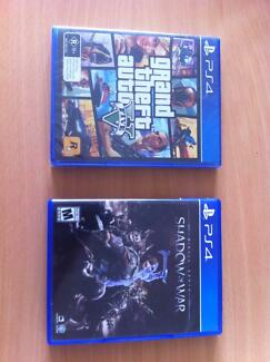 Middle-earth: Shadow Of War + Grand Theft Auto GTA V (PS4)