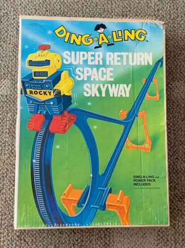 TOPPER  DING A LING  SUPER RETURN SPACE SKYWAY  C. 1971 ROCKY  DINGALING