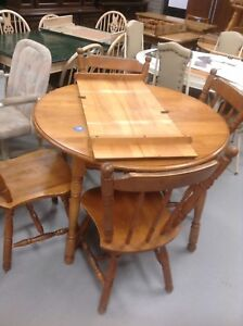 Very large table /bench/chairs