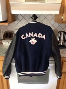 Men's Olympic jacket by ROOTS