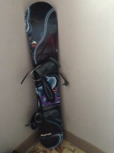 "Swing 64 "", snowboard 162cm with bindings"