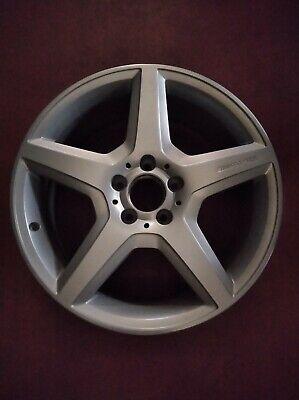 1x Mercedes-Benz AMG 18 Zoll Felge 7J x 18 ET49 Silber A1694011602