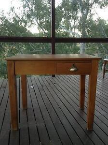 Antique Oak Desk Montacute Adelaide Hills Preview