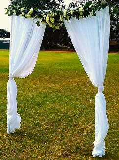 Ornate wedding arch party hire gumtree australia adelaide city 180 wedded bliss ceremony arch for hire adelaide cbd junglespirit Gallery