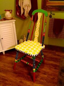 Vintage Hand Painted Chair