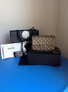 Brand New Chanel Caviar Mini Rectangle Classic Flap Caroline Springs Melton Area Preview