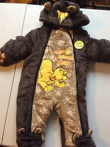 Infant snow suit 0-3 months