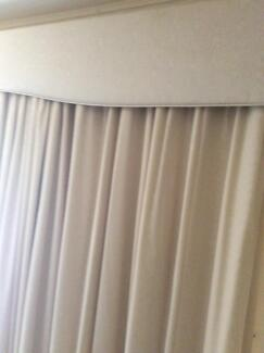 Curtains with Pelmets & Sheer curtains