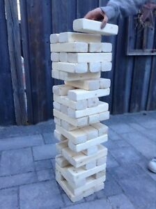Jumbo Jenga - Jenga Wood Blocks
