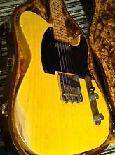 1999 Fender Custom Shop '51 Nocaster Relic Tele, John Cruz built Mango Hill Pine Rivers Area Preview