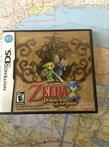 Zelda phantom hourglass.  DS