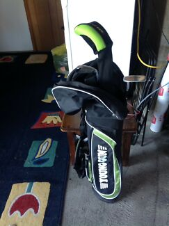 Boys junior left handed golf set
