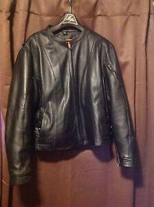 Plus Size Ladies Leather Jacket