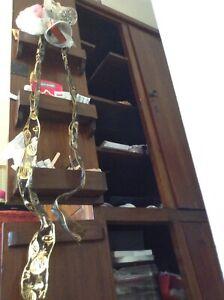 Tall 4 door wooden cabinet lockable Heathridge Joondalup Area Preview