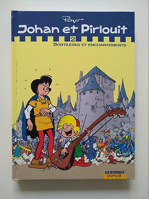 EO 2008 (très bel état) - Johan et Pirlouit intégrale 2 (sortilèges) - Peyo